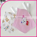 2016 customized designs embroider baby bibs wholesale cotton baby bibs