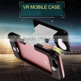 Crazy selling DIY cheap virtual reality google cardboard vr 3d glasses for sexy movie for wholesales