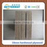 18mm Film Faced Plywood, Melamine WBP Glue Film Faced Plywood, Poplar Core/Hardwood Core Shuttering Plywood For Construction