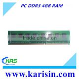 In large stock pc3-10600 1333mhz 4 gb 4gb ddr3 pc ram with ETT original chips