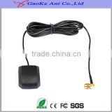 gps/glonass navigation device for auto car,External vehicle GPS/GLONASS active magnetic base sma connector antenna