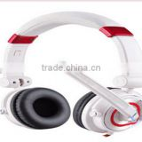 Noise Cancelling Wired Stereo Headphone With Microphone,game and computer LED headphone for 3.5mm plug and USB