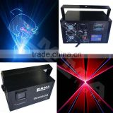 Portable Red Green blue yellow pink white Laser beam Projector Lights DJ KTV Home Party Disco Xmas LED Stage Lighting