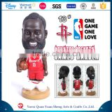 Customized Polyresin Resin James Harden NBA Bobble Head Doll Statue,NBA James Harden Bobblehead                                                                         Quality Choice