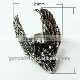 Fashion Stainless Steel Eagle Rings(RJEW-G002-34)