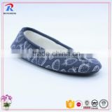 wholesale lace up ladies line dance shoe