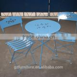 Iron folding table and chairs / leisure / Balcony Patio / Meeting / Tea Bar / Party / garden set