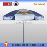 Deluxe aluminum cantilever patio umbrellas , Favorites Advertising beach umbrella with logo printing for outdoor Umbrella