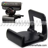 Game Accessories Top Quality TV Clip For PS3 Move Eye Camera Mount Holder Stand Controller Black