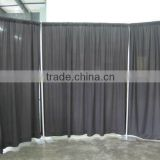 Banquet hall decoration pipe and drape accessories