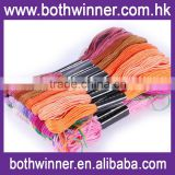 Mixed color embroidery thread 100x8m