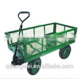 $ 30000 Trade Assurance Folding Heavy Duty Steel Mesh Kids Garden Wagon Cart farm tools and names