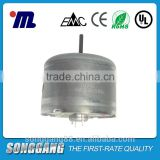 1.5v low speed mini size electric DC motor RF-330TK-07800 typical applied in air freshener