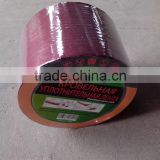 Self-adhesive waterproof flashing tape