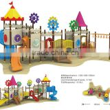 kids outdoor playhouse with monkey bar CIT10-109A
