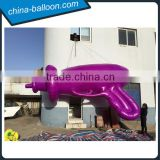 Event advertising inflatable laser gun inflatable replica for promotion