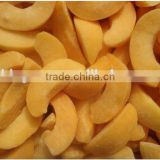 IQF frozen yellow peach halves/sliced for sale
