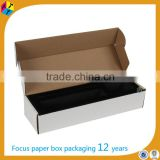 white corrugated packaging trading card box