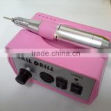 Sweet Pink Nail Art Equipment Manicure Tools Pedicure Acrylics Pink Electric Nail Drill Pen Machine Set Kit