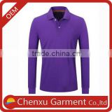 polo shirt long sleeve men sports wear sublimation polo shirt custom digital printing 180 gsm polo t shirts In bulk sale