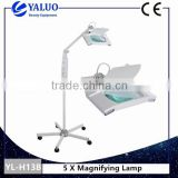 Medical Factory Price LED Efficient Magnifying Glass Skin Examination Lamp With High Quality Folding Stand Beauty Salon