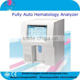 CE Approved PC Platform Fully Auto blood analyser human touch screen hematology analyzer