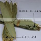 zhu ye dry bamboo leaves materials Dragon boat festival food