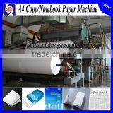 Hot Sale 35 T/D white office a4 copy paper production line,paper notebook making machine with resonable price