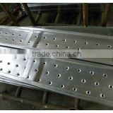 Thickness 1.5mm perforated steel plank U.S Type