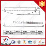 89434-2012-01 leaf spring of trailer for JAPAN AUTOMOBILE