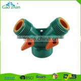 manufacturer Plastic Y TEE coupling male ad female hose connector tap connector