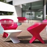 OEM rotational table and chairs set Plastic Outdoor Leisure Chair/ rotomold furniture making ,/plastic chairs lldpe