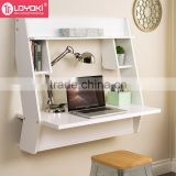 2016 NEW design computer desk living room table furniture MDF Wooden Cheap wall mounted desk