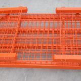Heavy Duty Rigid Rolling Wire Mesh Container With Caster