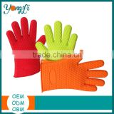 Oven Mitts Insulating Waterproof Safety for Outdoor Cooking Silicone Finger Cover