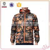 Hot Selling Men Cool Hiphop Style High Quality Camo Printing Jacket Sports Jogging Coat M-3XL XN-PJ16025