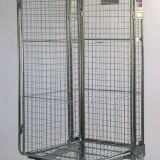 Electronic Equipment Roll Cage Trolley With Wire Mesh In-Fill