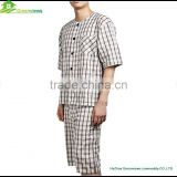 Boys Pajama Set,men's Sleepwear,Sleep Suit,Pajamas,100% Cotton Knitted short pyjamas GVXF0010