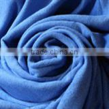 corol blue brushing fabric /sueded cloth for Garment