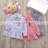 Autumn 2017 Korean new children's wear baby girls shirt long sleeve shirts wholesale kids shirt girls