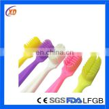 2015 new FDA approved cheap creative baby product silicone baby toothbrush finger toothbrush