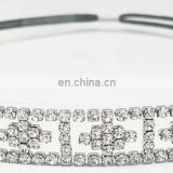 hot sale cheap crystal chain headband for wedding hair accessories