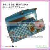 High quality handmade lipstick box