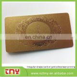 Non-standard size Business Card with foil stamping