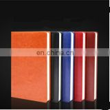 A5 PU Leather Notebook Office Folio Organizer Business Looseleaf Notebook
