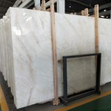 Crystal white onyx slabs Natural marble stone white onyx transparent wall tiles big interior wall tiles with backlit