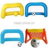 China inflatable football goal set inflatable soccer goal inflatable sports games