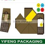 china wholesale custom logo e-cai friendly safe folding custom paper sandwich box packing