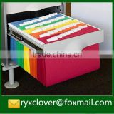 Colorful A4 paper movable document holder                                                                         Quality Choice