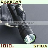 DAKSTAR ST16A 1010LM CREE XML T6 18650 High power Aluminum Police Emergency Rechargeable LED Flashlight
